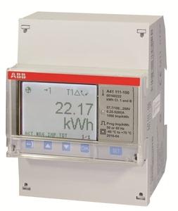 Contador energía, medicion directa 80A, 1 fase (1+N)