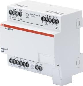 Controlador Fan Coil, 3 x 0-10 V, REG
