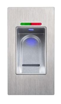 Fingerprint reader standard version in door mounting