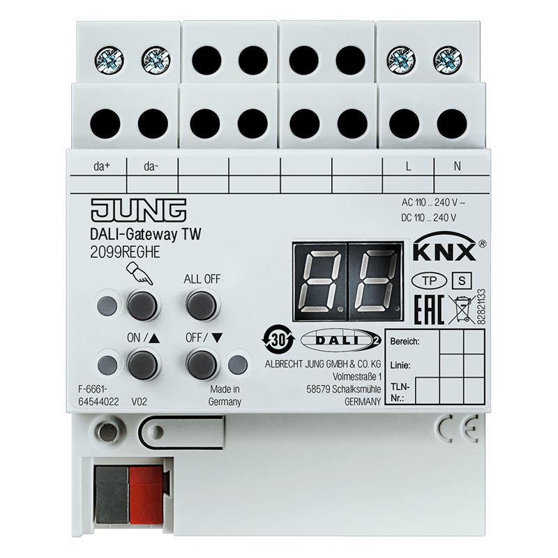 KNX interface DALI TW