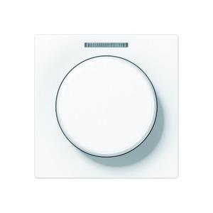 Abdeckung mit Lichtleiter für KNX Drehs.