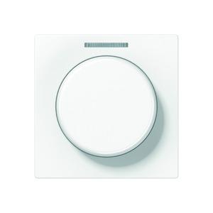 Embellecedor. Con rueda giratoria y lente. Para sensor giratorio KNX DS 4092 TS.  Blanco.