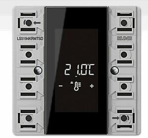 KNX Controlador de estancia RCD, módulo compacto, 4 fases