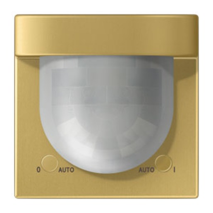 Detector KNX 2.20 m. Universal. Sensor de luminosidad. Temperatura. latón classic (lacado)