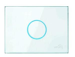 Vitrum I EU KNX Series GLASS COLLECTION  - Pulsador Capacitivo  (FRONTAL)