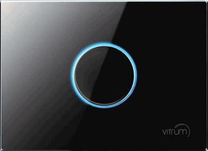 Vitrum I EU KNX Series GLASS COLECTION  - Pulsador Capacitivo   (FRONTAL)